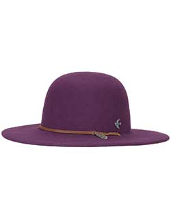 Bird & Feather Wool Felt Hat