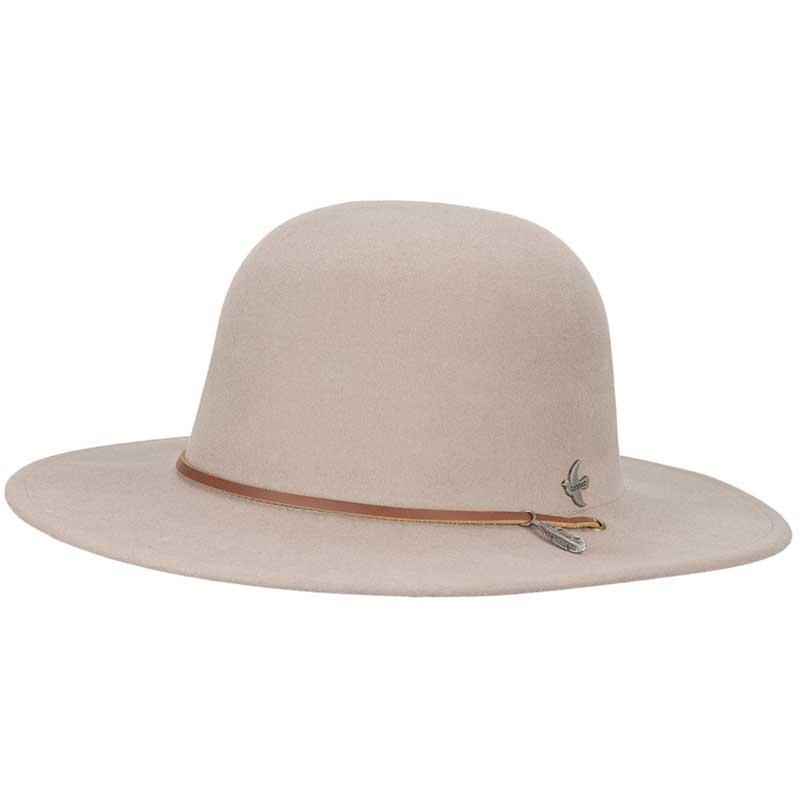 Bird & Feather Hat, Putty