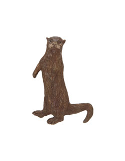Standing River Otter Pin