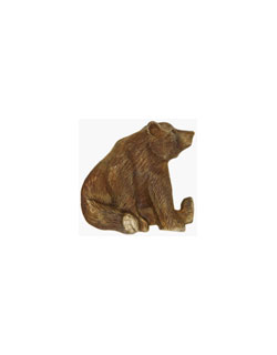 Sitting Grizzly Pin