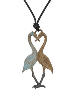 Heron Heart Pendant