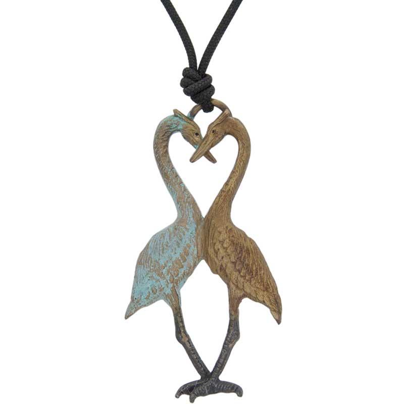 Heron Heart Pendant by Cavin Richie