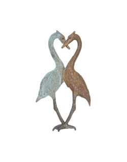 Heron Heart Pin