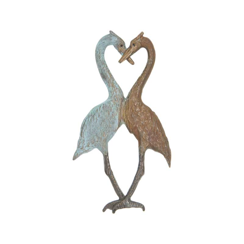 Heron Heart Pin by Cavin Richie