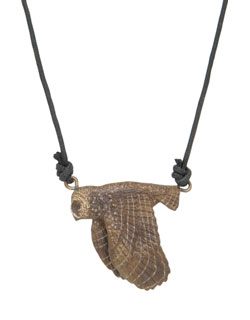 Spotted Owl Pendant
