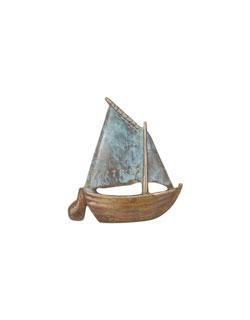 Gaff Rigged Sailboat Pin