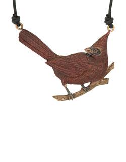 Cardinal Pendant