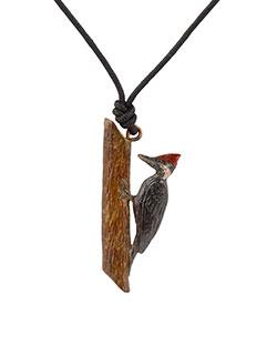 Pileated Woodpecker Pendant