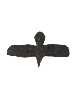 Soaring Raven Pin