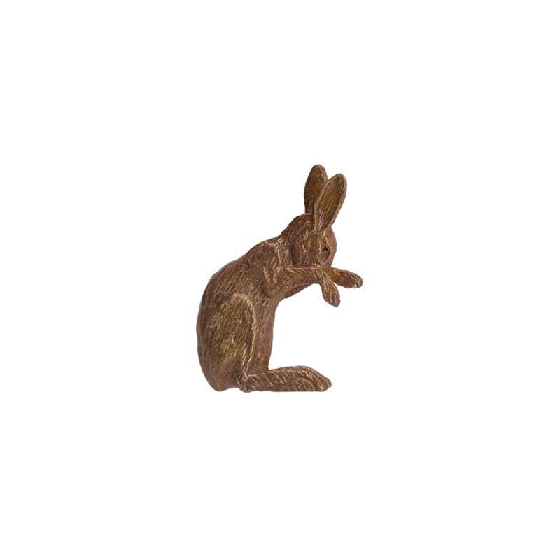 Rabbit Pin, Bronze