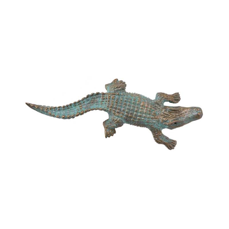 Alligator Pin, Bronze