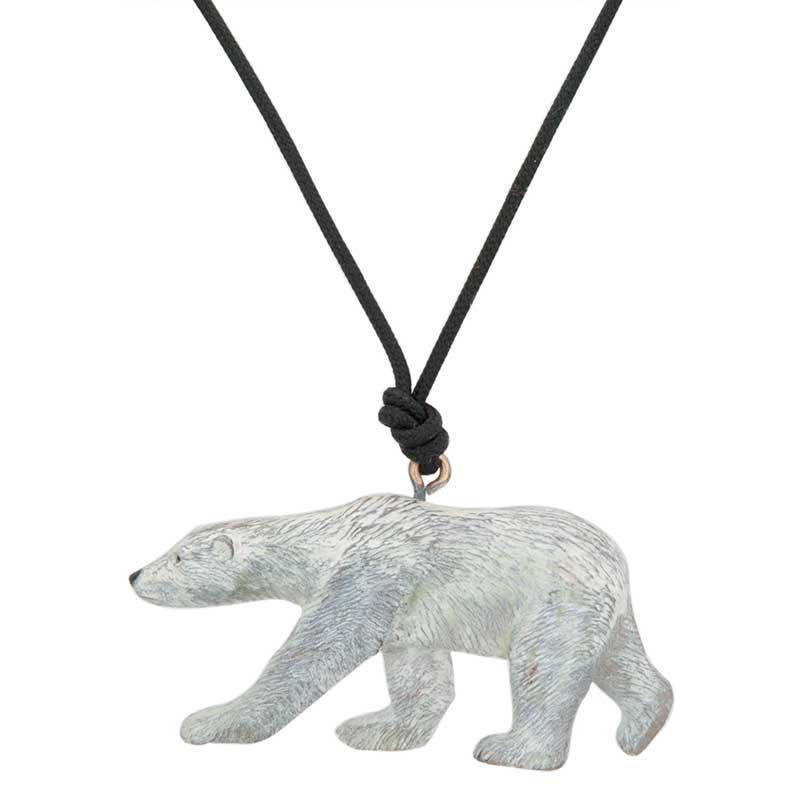 Polar Bear Pendant by Cavin Richie