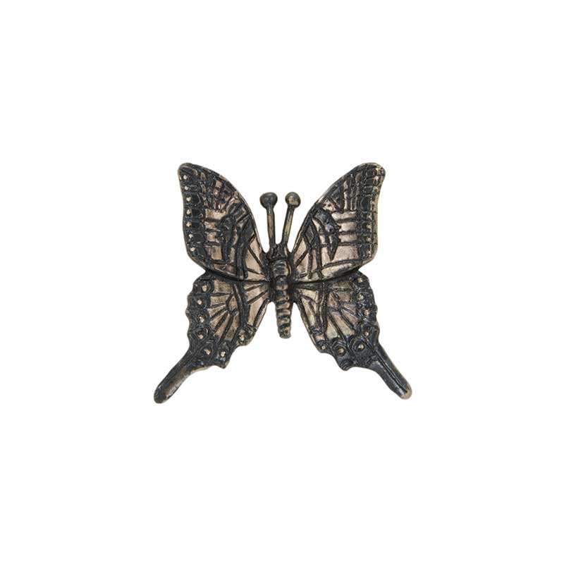 Swallowtail Butterfly Pin, Bronze