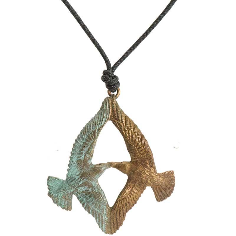 Terns Pendant, Bronze