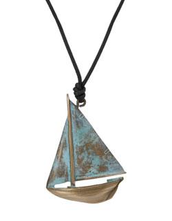 Buzzard's Bay Sailboat Pendant