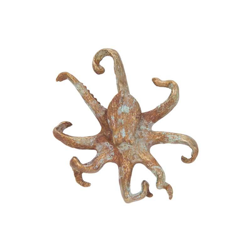 Octopus Pin, Bronze