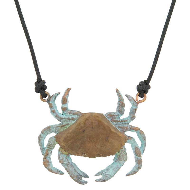 Dungeness Crab Necklace