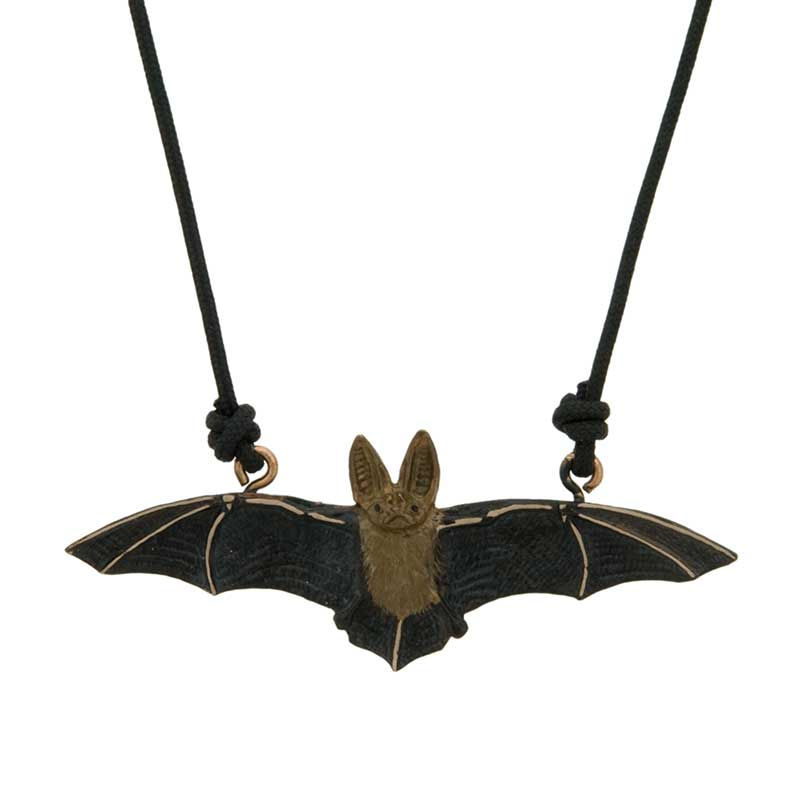Long-Eared Bat Pendant by Cavin Richie