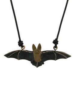 Long-Eared Bat Pendant
