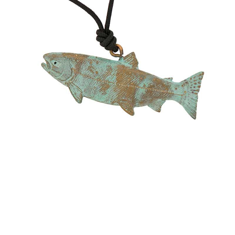 Coho Salmon Pendant