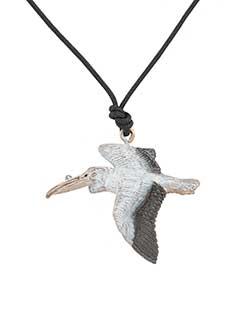White Pelican Pendant