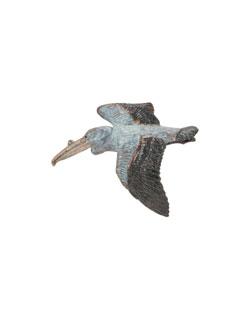White Pelican Pin