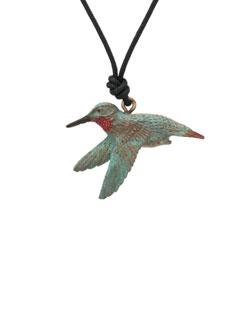 Female Rufous Hummingbird Pendant