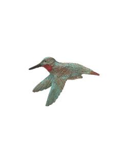 Female Rufous Hummingbird Pin