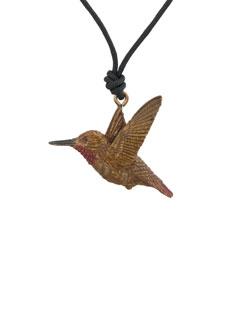 Male Rufous Hummingbird Pendant