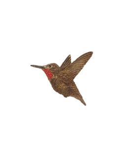 Male Rufous Hummingbird Pin