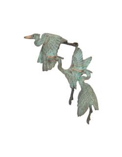 Small 3 Herons Pin