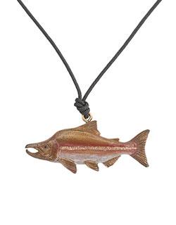 Humpback Salmon Pendant