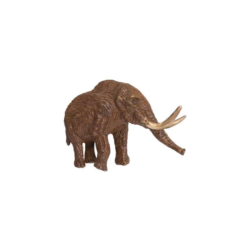 Mastodon Pin, Bronze