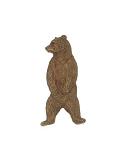 Standing Grizzly Bear Pin