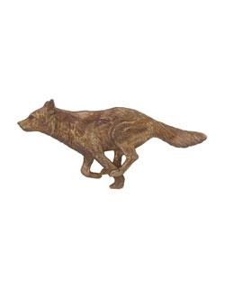 Running Wolf Pin