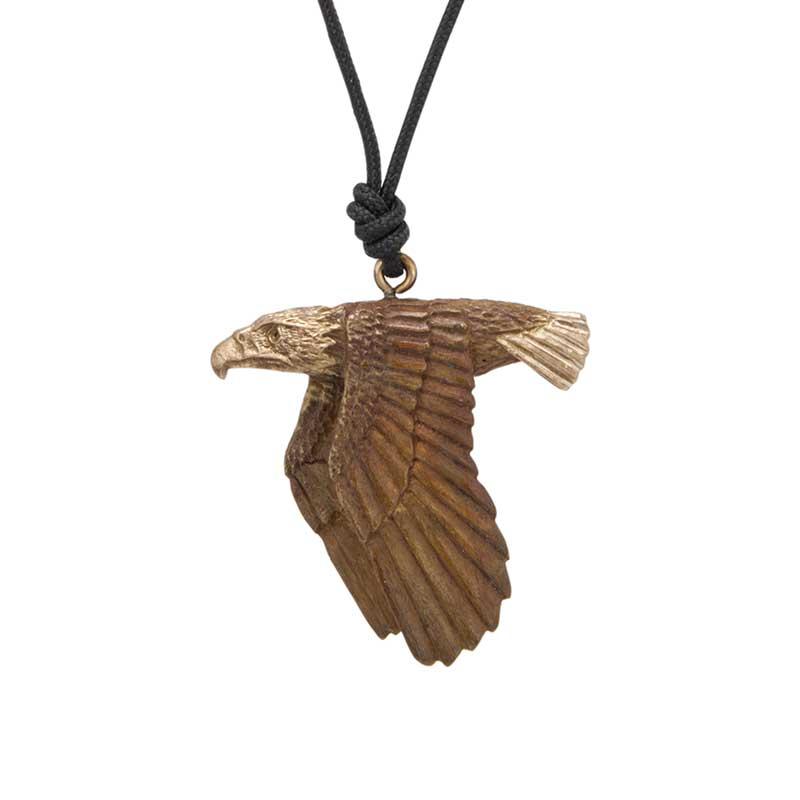 Flying Eagle Pendant, Bronze