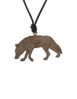 Trail Wolf Pendant