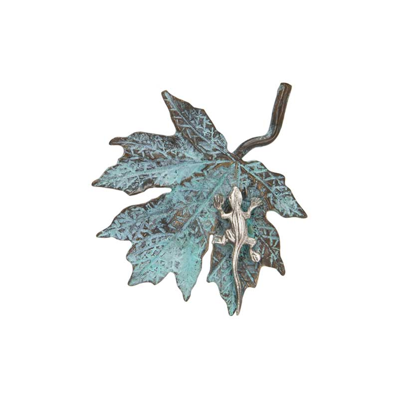 Maple Leaf with Lizard Pin