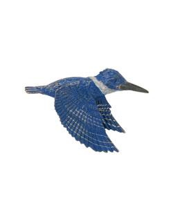 Kingfisher Pin
