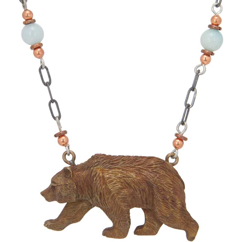 Grizzly Bear Necklace
