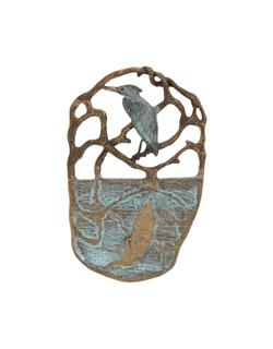 Heron Reflections Pin