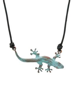 Gecko Pendant