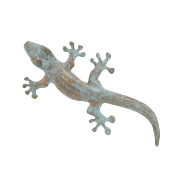 Gecko Pin, Bronze