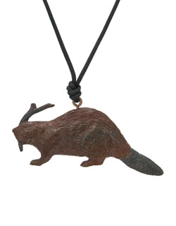 Beaver Pendant