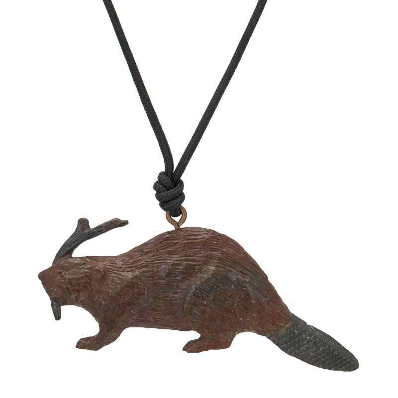 Beaver Pendant by Cavin Richie