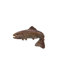 Brown Trout Pin