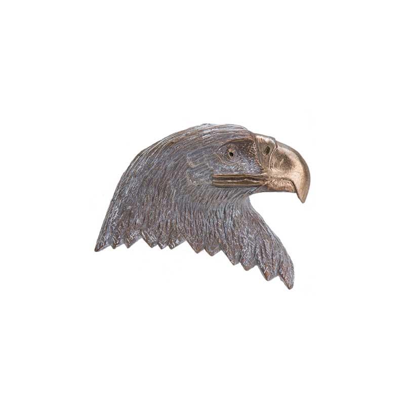 Bald Eagle Head Pin, Bronze