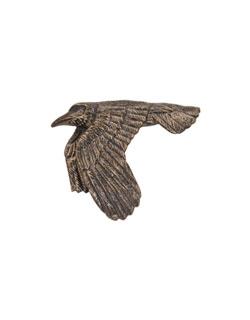 Flying Raven Pin
