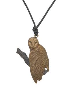 Barn Owl Pendant