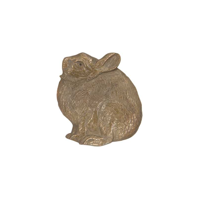Cottontail Pin, Bronze